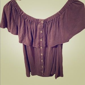 American Eagle Pink Top Size Small